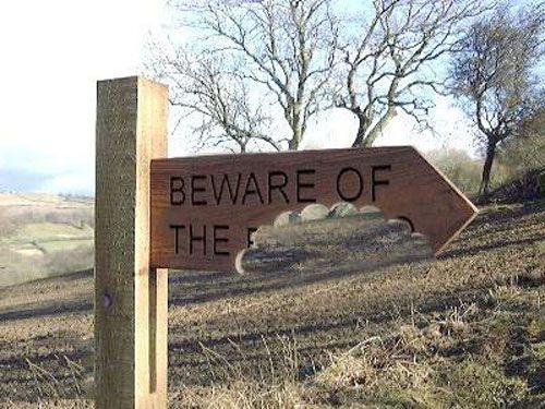 Beware of what?!