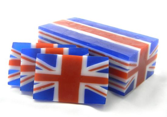flag soap - very cool