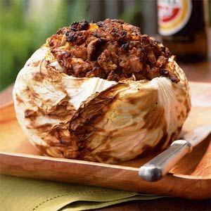 Barbecued Cabbage with Santa Fe Seasonings Recipe
