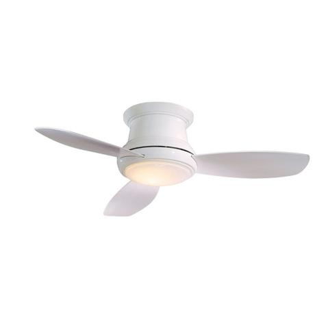 44 minka aire concept ii white hugger ceiling fan - Small space ceiling fans pict ...