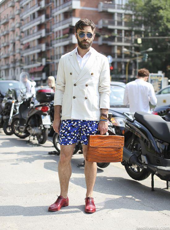 Street Style Milan #fashion #menswear