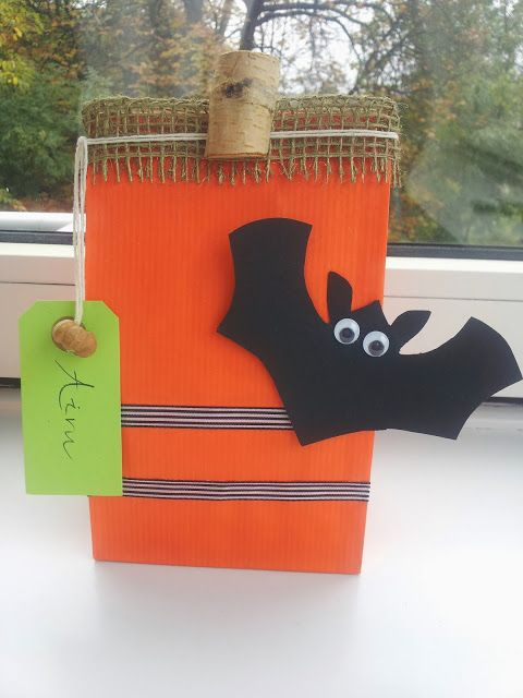 Do-It-Yourself Kids: Goodie Bags for Halloween / Kids' DIY: Goodie Bags for Halloween