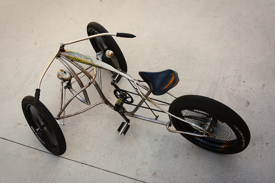 For sure a trike, but WOW...I'm all over this!