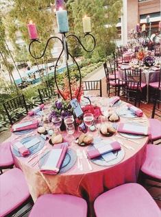 Colorful Wedding Reception 3