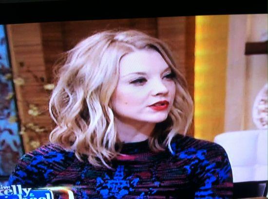 Love Natalie Dormer's hair style