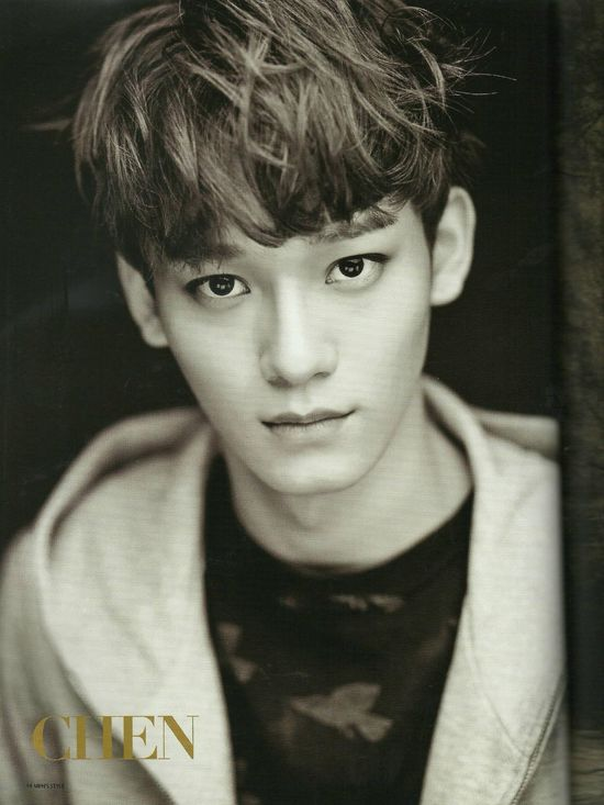 EXOdicted - EXO Fansite: [SCANS130831 EXO on Men's Style Magazine September Issue HQ - Chen