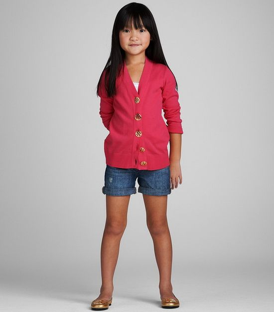 Hate to admit it but I love this simple, classic look by Tory Burch Kids Clothing
