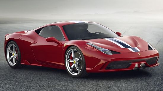 Behold: The Ferrari 458 Speciale