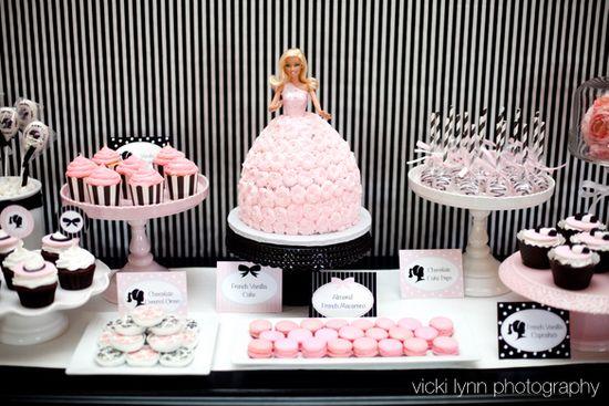 Paris/Glamour Girl/ Barbie birthday party