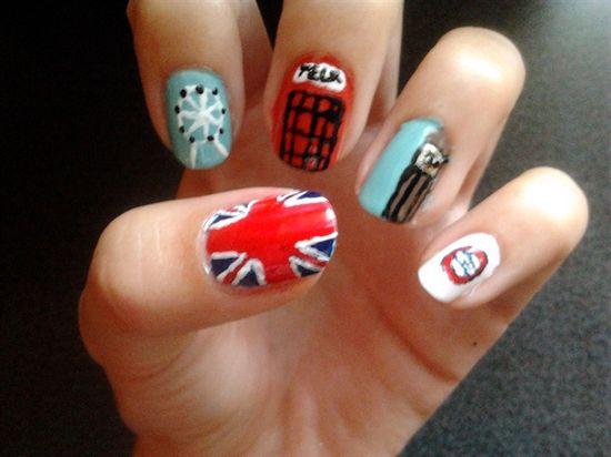 England Nails - Nail Art Gallery by NAILS Magazine