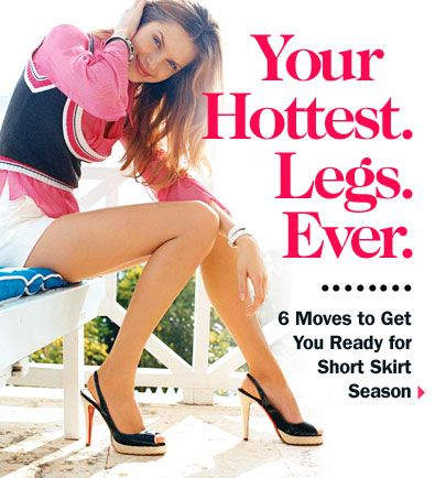 6 moves to sexy legs