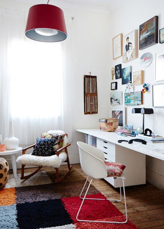 Tim Leveson home office