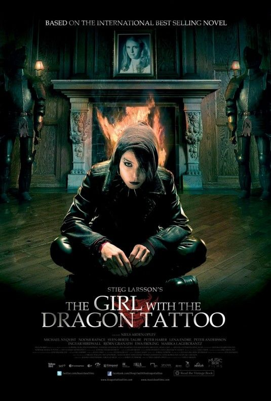 """"""" The Girl with the Dragon tattoo """""""