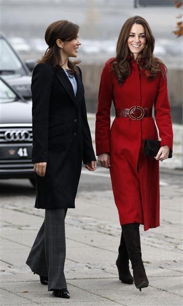 Kate in Copenhagen, November 2, 2011.