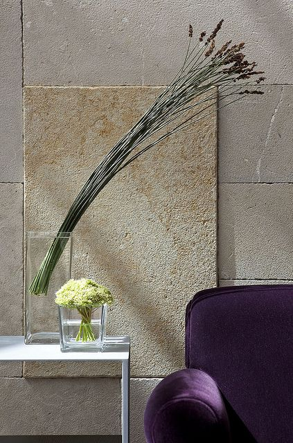 Design Hotel Mamilla Jerusalem  love the contemporary arrangement of flowers