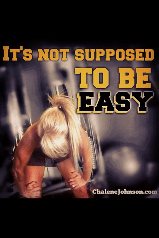 if it was....everyone would be fit! @chalenejohnson #fitfluential