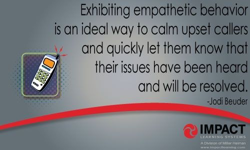 Develop soft skills to drive successful customer service departments and call centers. #empathy