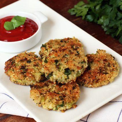 Quinoa and Broccoli Patties