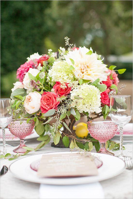 romantic wedding floral ideas