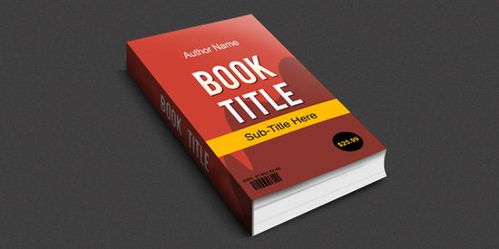 Create a 3-D Book Cover in #Photoshop #Graphicdesign