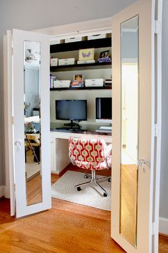 Closet To Office Design Ideas, Pictures, Remodel, and Decor