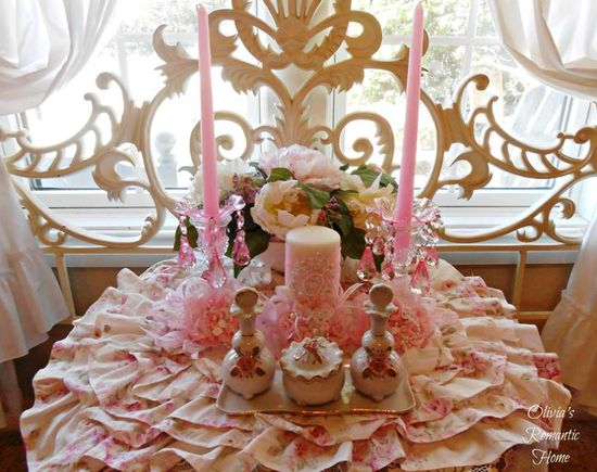 So shabby chic and romantic