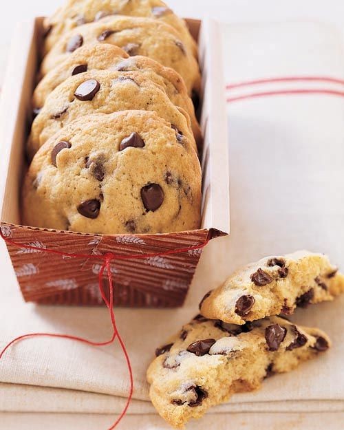 Big, fat CHEWY chocolate chip cookies- this recipe is the BEST!