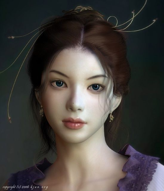 Most Beautiful CG Girls and 3D Character