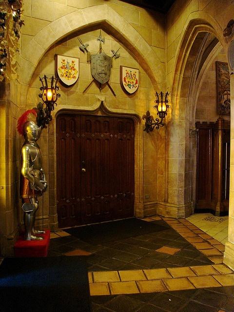 inside cinderella's castle