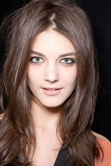 Eyeliner In Full Effect at BCBG - Best Spring 2013 Fashion Week Makeup Looks