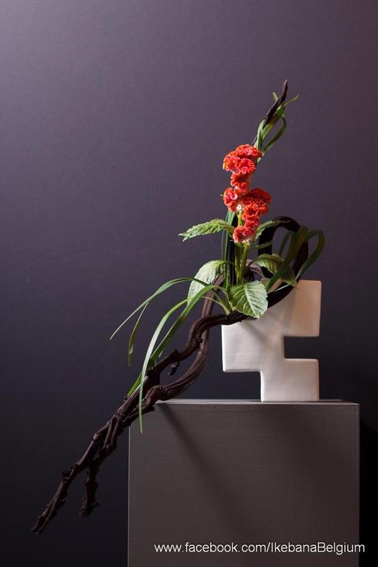 Ikebana, the beautiful art of Japanese flower arrangement