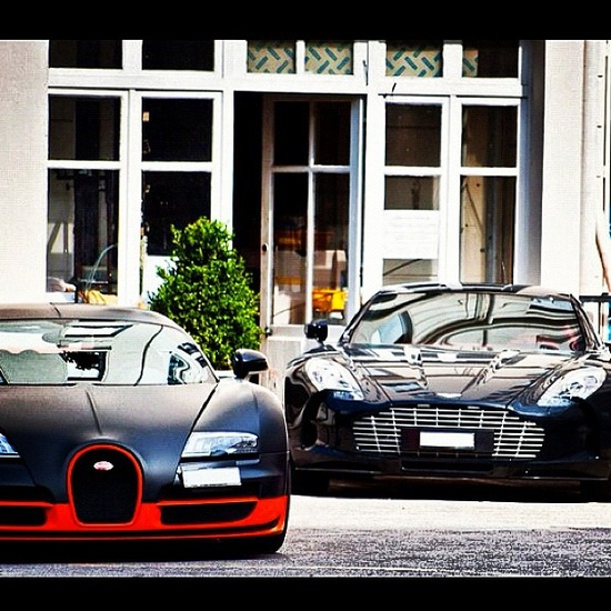 Bugatti vs Aston Martin. Left or right?
