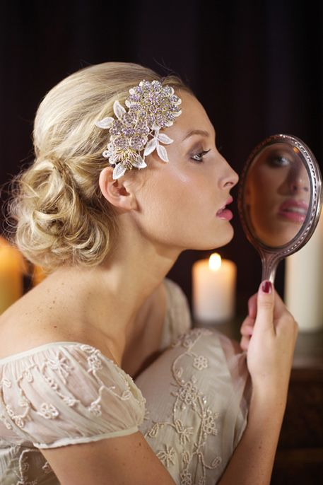 Vintage Hair Accessories for Wedding