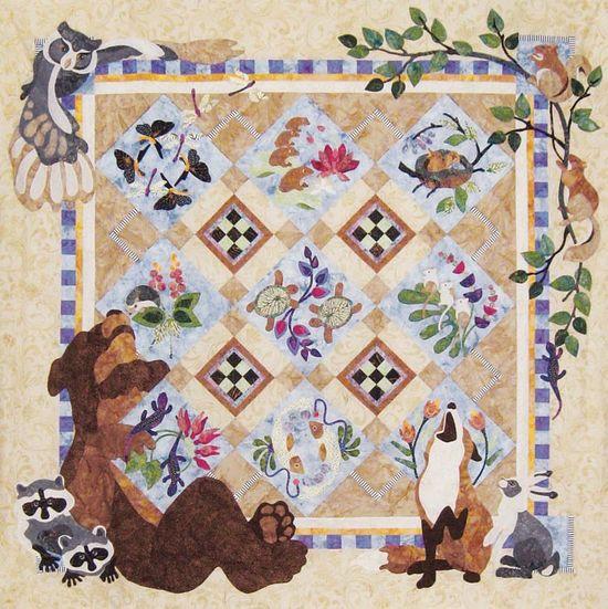 Whimsical Quilt Patterns, Dog & Frog Quilt Patterns, BOM, Turtle Quilt Patterns, Kids Quilt Patterns, Animal Quilt Patterns