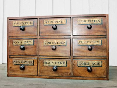 Mid-19th-Century Storage Chest  $1,000  Crafted of mahogany and pine, this piece relied on square nails as well as handmade dovetail joints for its construction, which suggests that the unit hails from the mid-1800s