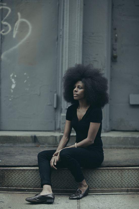 :}  Natural Hair