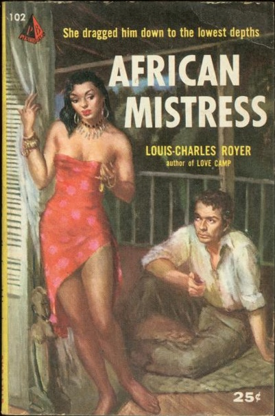 African Mistress, paperback book cover