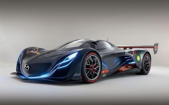 Luxury racing cars