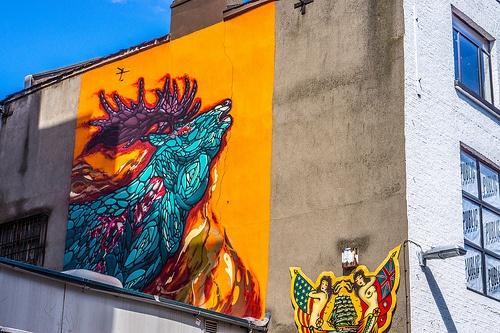Street Art - East Essex Street (Dublin)