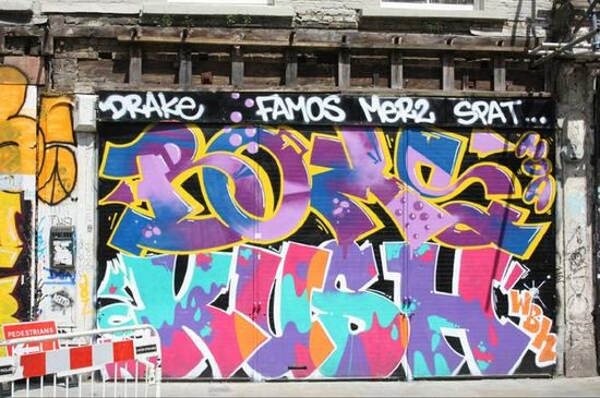 Graffiti & Street Art fonts #Shoreditch via @richardovery