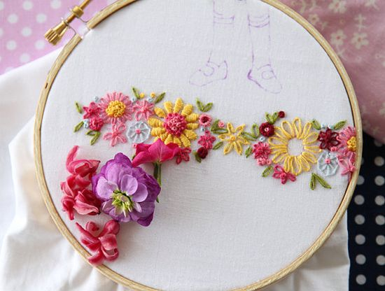 Embroidery patterns.