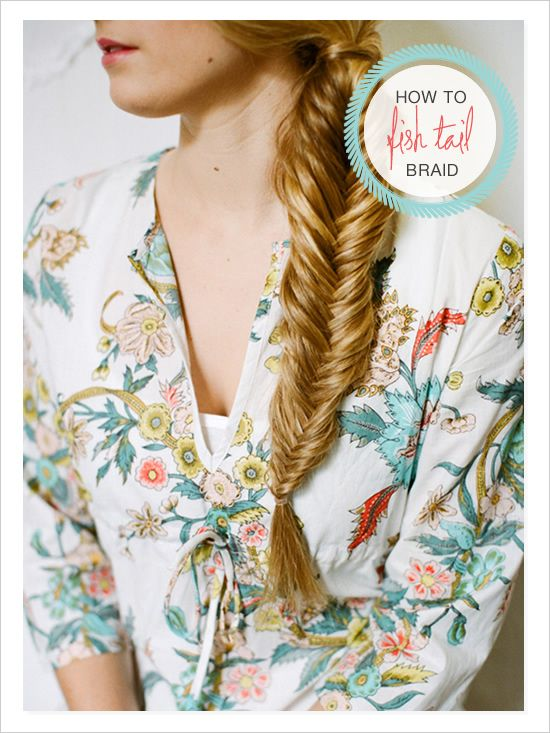 how to fish tail braid