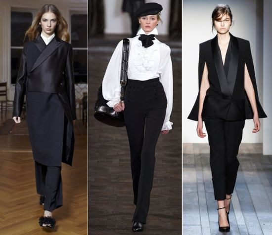 Top Fall 2013 Fashion Trends: Luxe Tux