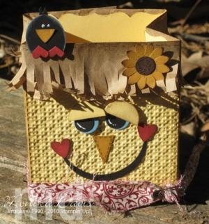 Stampin' Up!  Fancy Favor Box  Monika Davis by robindu