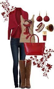 Adoro la ropa roja