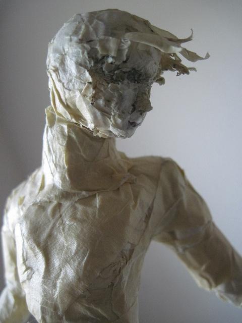 masking tape sculpture!