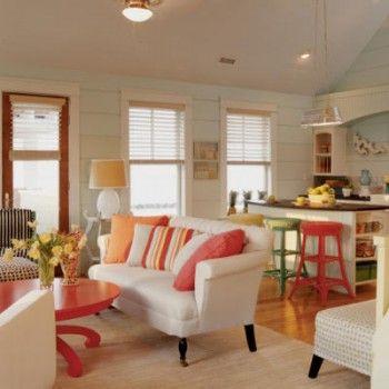 beach living room Coastal Living
