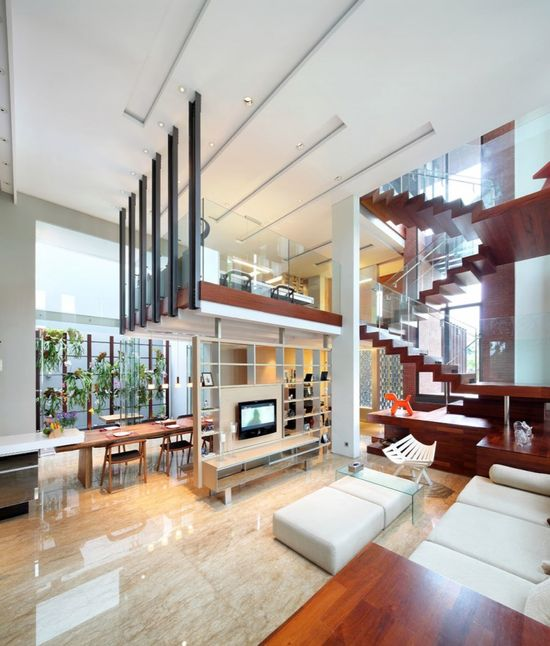 modern and open
