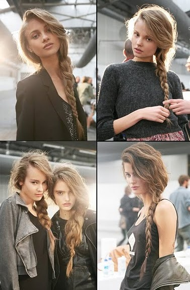 could these side braids be any more lovely!