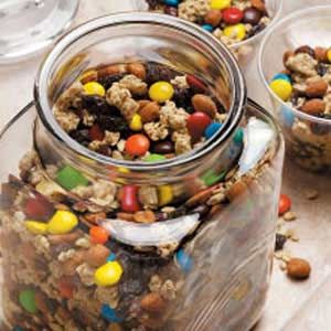 Trail mix!  Best camping food.